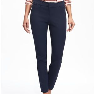 NWT Old Navy Women's Pixie Navy Pants 12P